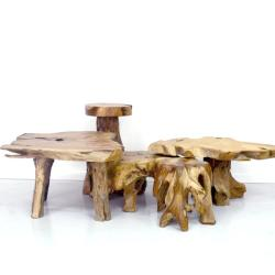 Thesis - Rustic Side Tables